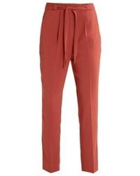 Pantaloni stretti in fondo rossi di Even&Odd