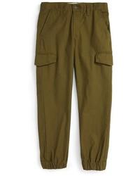 Pantaloni verde oliva