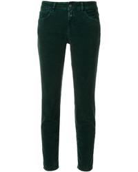 Pantaloni verde scuro di Closed