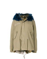 Parka marrone chiaro di Mr & Mrs Italy