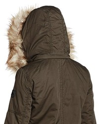 Parka marrone scuro di Only