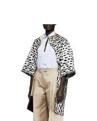 Pelliccia leopardata beige