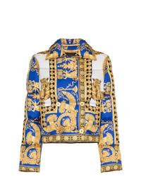 Piumino giallo di Versace