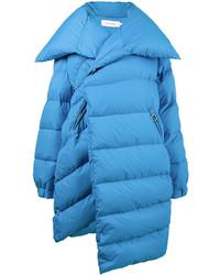 online retailer 96566 acb34 Piumini lunghi azzurri da donna | Moda donna | Lookastic