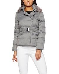 cheap for discount 69b67 2d219 Piumini lunghi grigi da donna   Moda donna   Lookastic