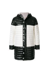 buy online ffe5e 543ea Piumini lunghi neri e bianchi da uomo | Moda uomo | Lookastic