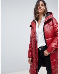 online store 7d52c aebe1 Piumini lunghi rossi da donna su Asos   Moda donna   Lookastic