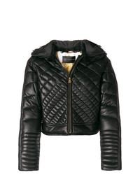 Piumino nero di Versace