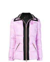 Piumino rosa di Versace