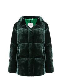 Piumino verde scuro di Moncler
