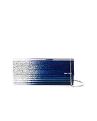 Pochette blu scuro di Jimmy Choo