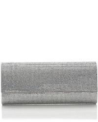 Pochette con perline argento