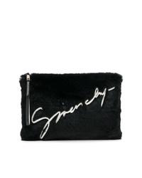 Pochette di pelliccia nera di Givenchy