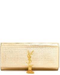 Pochette dorata di Saint Laurent