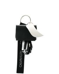 Pochette in pelle nera e bianca di Calvin Klein 205W39nyc