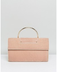 Pochette marrone chiaro di Miss Selfridge