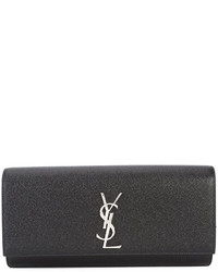 Pochette nera di Saint Laurent