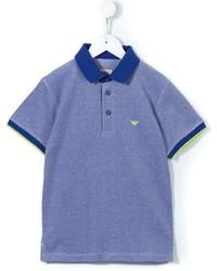Polo blu di Armani Junior