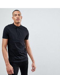 Polo nero di ASOS DESIGN