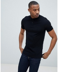 Polo nero di Jack & Jones