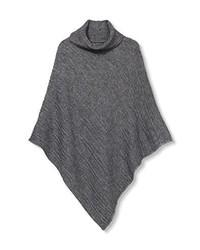 Poncho grigio scuro di Esprit