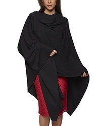 Poncho nero di APART Fashion