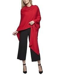 Poncho rosso di APART Fashion