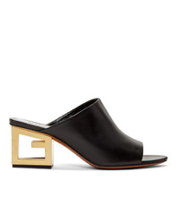 Sabot in pelle neri di Givenchy
