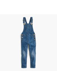 Salopette di jeans blu