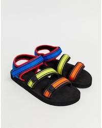 Sandali di tela multicolori di ASOS DESIGN
