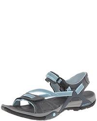 Sandali grigio scuro di Merrell