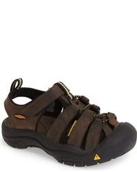 Sandali marrone scuro