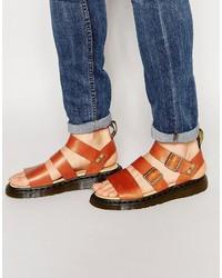 Sandali marroni di Dr. Martens
