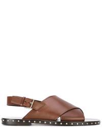 Sandali marroni di Valentino Garavani