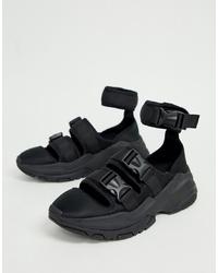 Sandali neri di ASOS DESIGN