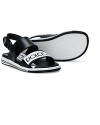 Sandali neri di Dolce & Gabbana