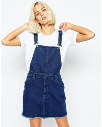 Scamiciato di jeans blu scuro di Cheap Monday