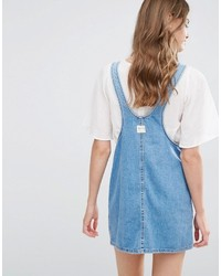 ... Scamiciato di jeans blu di Pull Bear ... 476a85fe567