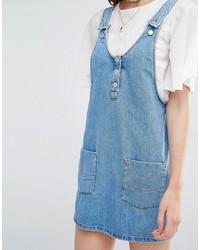 ... Scamiciato di jeans blu di Pull Bear f293ef44571