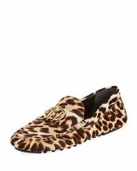 San Francisco def8e 96849 Scarpe basse leopardate marrone scuro da donna | Moda donna ...