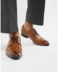 Scarpe brogue in pelle marroni di Ted Baker