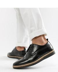 Scarpe brogue in pelle nere di ASOS DESIGN