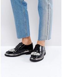 Scarpe brogue nere di Asos