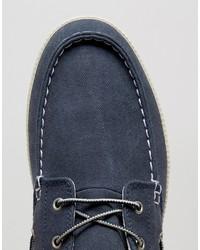 ... Scarpe da barca di tela blu di Timberland ... 1c3897ccd9e