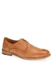 Scarpe derby in pelle marrone chiaro