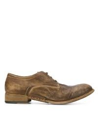 Scarpe derby in pelle marroni di Artselab