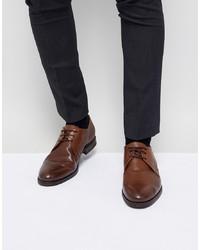 Scarpe derby in pelle marroni di Jack & Jones