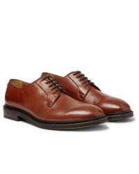 Scarpe derby in pelle marroni di Mr P.