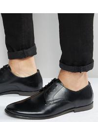 Scarpe derby in pelle nere di ASOS DESIGN