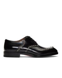 Scarpe derby in pelle nere di Christian Louboutin